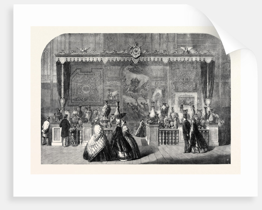 The International Exhibition: Tapestries of Gobelins and Beauvais and China of Sevres 1862 by Anonymous