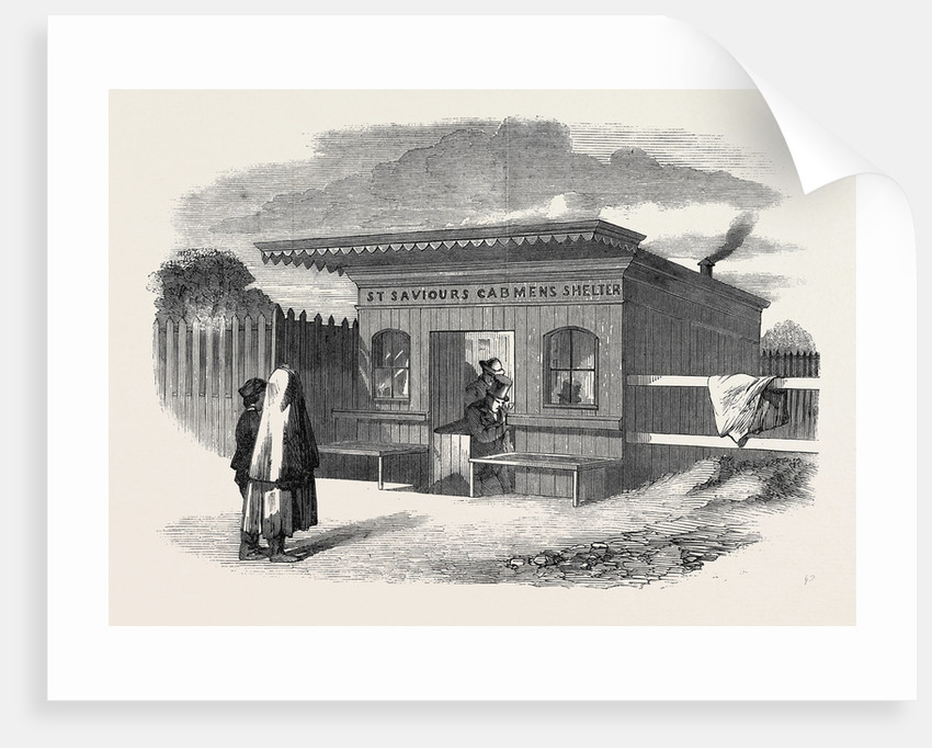 St. Saviour's Cabmen's Shelter Upper Brook Street Manchester 1862 by Anonymous