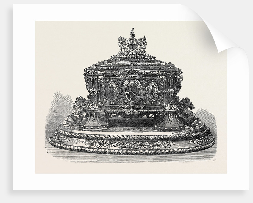 The Casket in which the Freedom of the City Was Presented to the Duke of Edinburgh UK 1866 by Anonymous