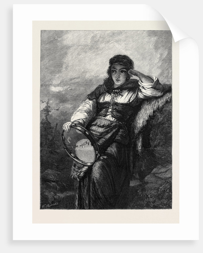 Homeless in the Exhibition of the Institute of Painters in Water Colours 1866 by Anonymous