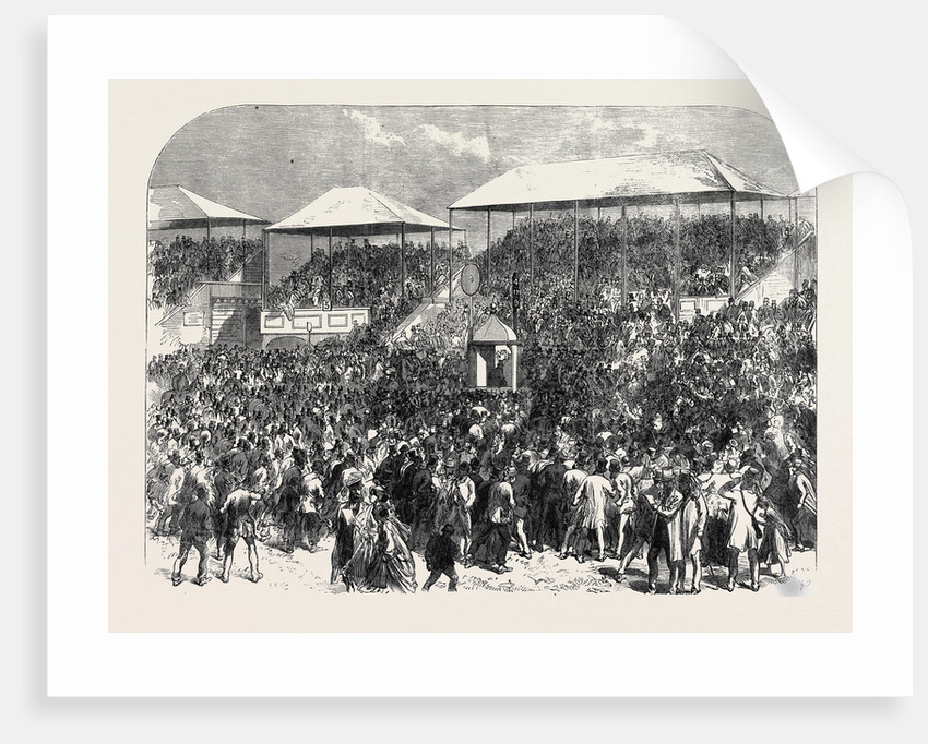 The Derby Day: Showing the Numbers UK 1866 by Anonymous