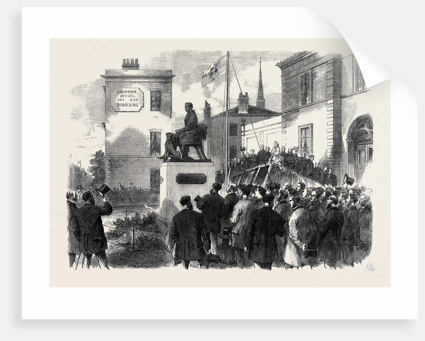 Inauguration of the Statue of the Late Mr. Richard Green at the Public Baths Poplar 1866 by Anonymous