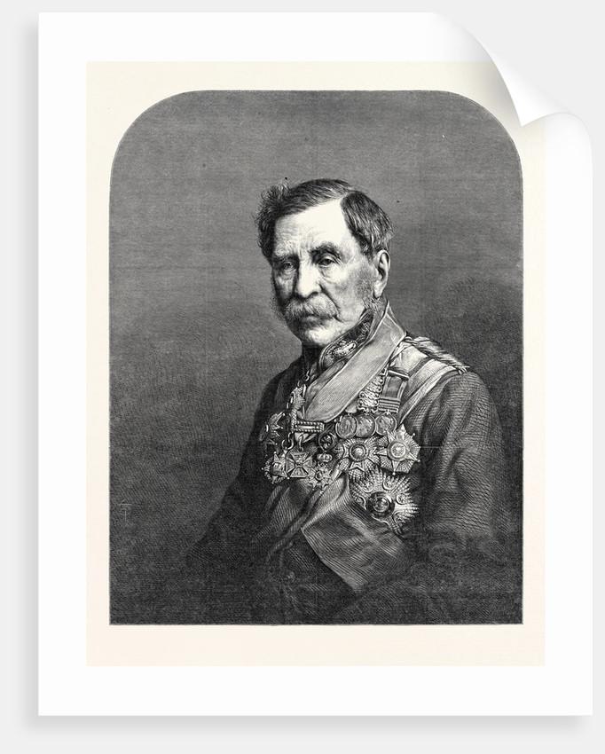 Sir John Fox Burgoyne Bart. G.C.B. by Anonymous
