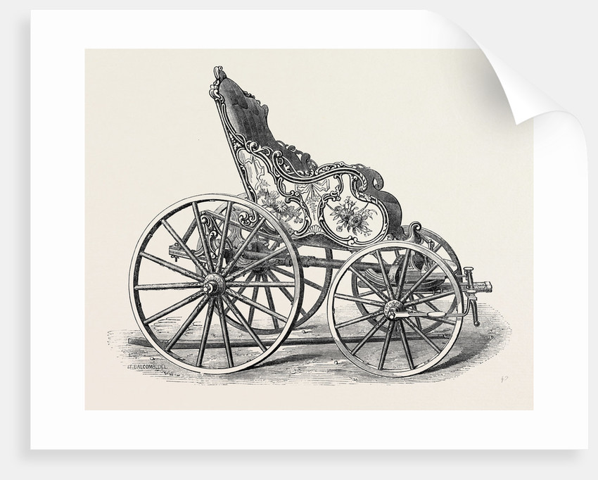 Old Carriage of French or Flemish Pattern by Anonymous