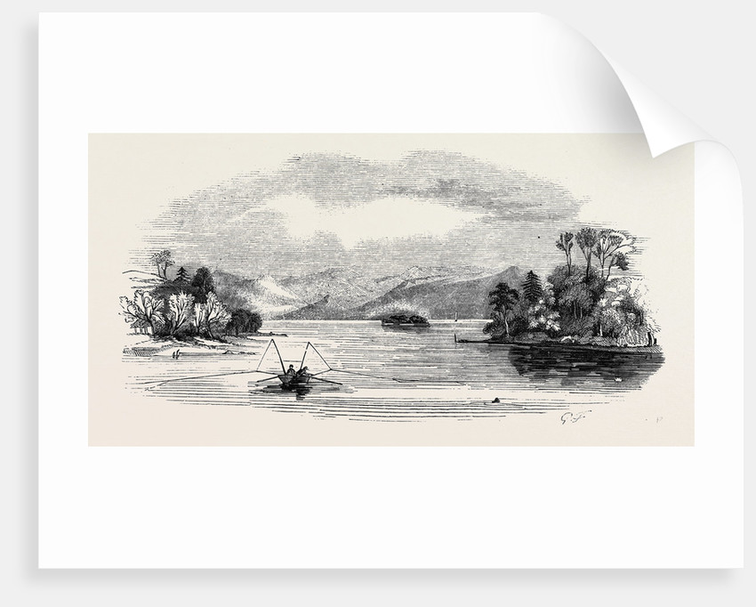 Lake Trout Fishing, in Derwent Water by Anonymous
