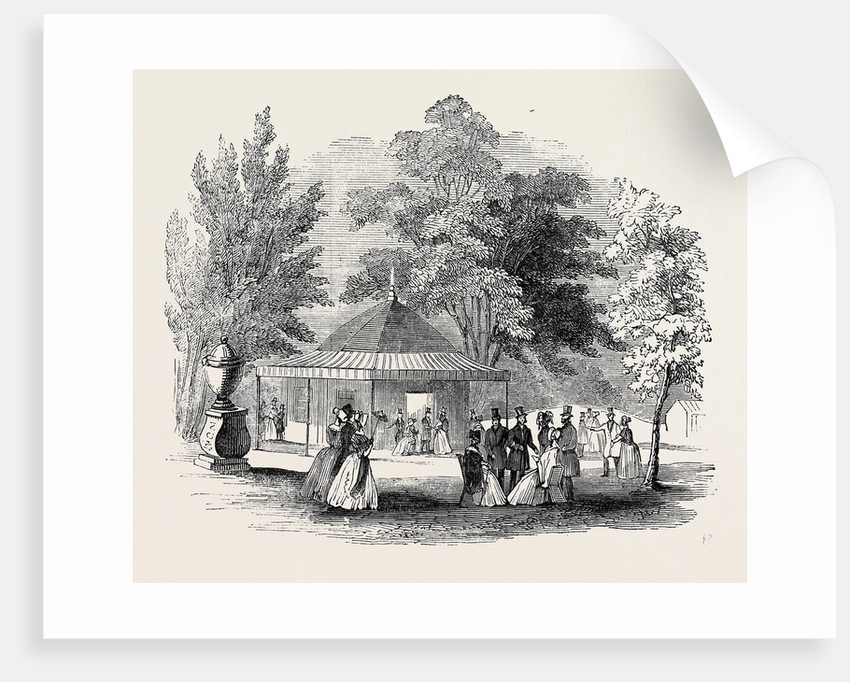 Refreshment Room, Royal Botanic Society's Gardens by Anonymous