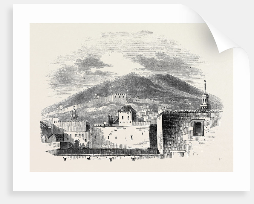 Morocco: View of Tetuan. by Anonymous