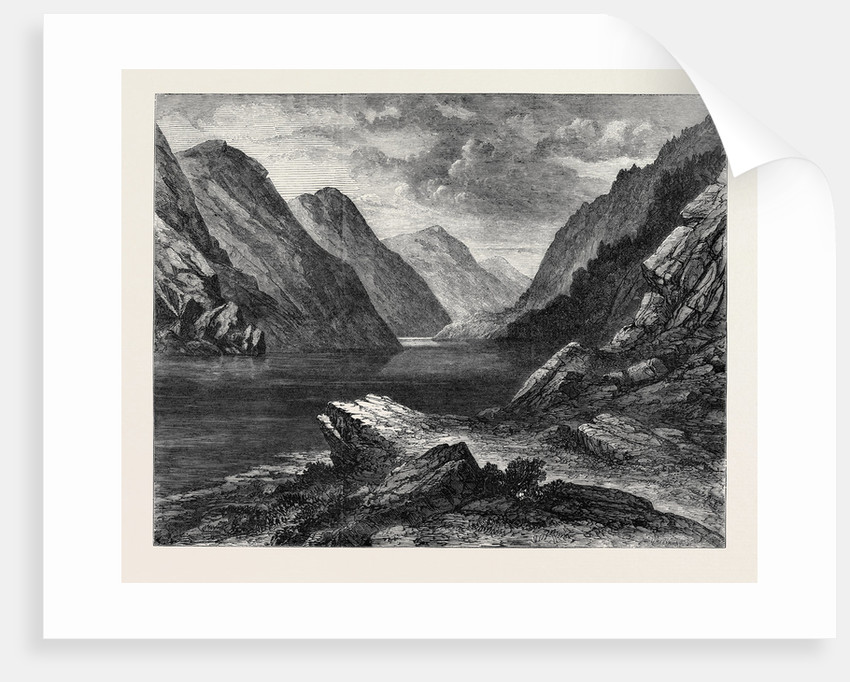 The Pass of Awe Argyleshire 1871 by Anonymous