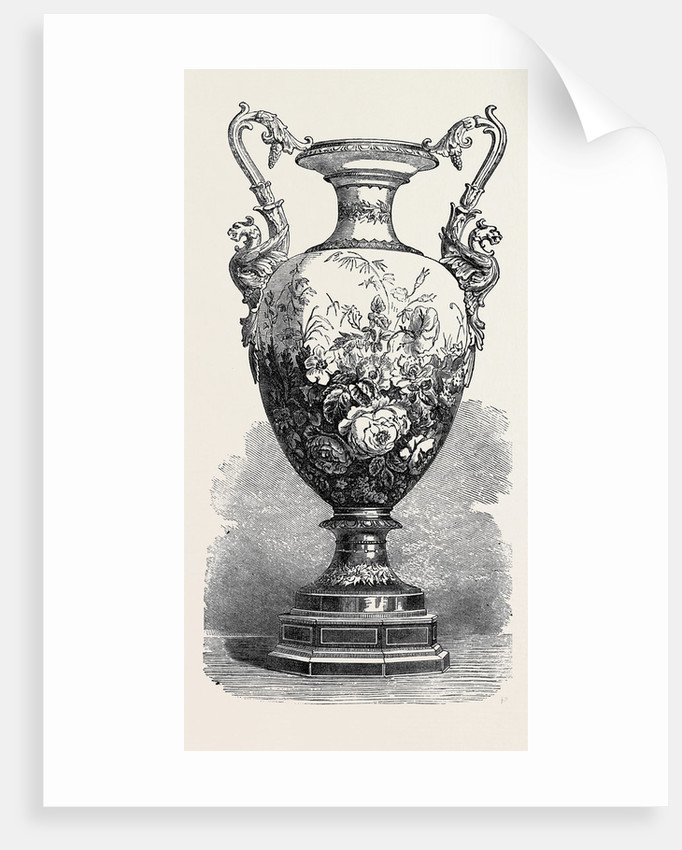 The International Exhibition: Porcelain from the Royal Factory at Berlin 1871 by Anonymous