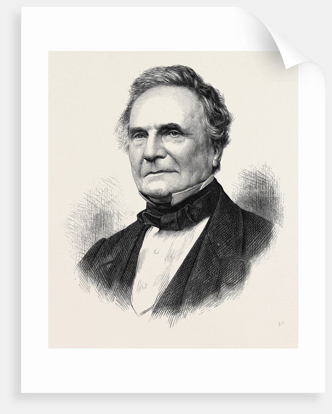 The Late Mr. Babbage 1871 by Anonymous