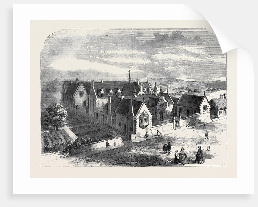 St. Andrew's College and Industrial Schools Chardstock Dorset UK by Anonymous