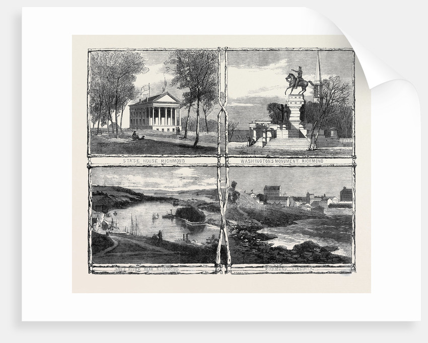 The Civil War in America: Sketches from Richmond Virginia the Capital of the Confederate States of America by Anonymous