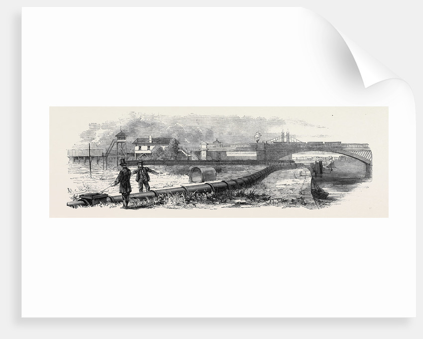 The Pneumatic Letter and Parcel Conveyance: The Despatch Tube at Battersea by Anonymous