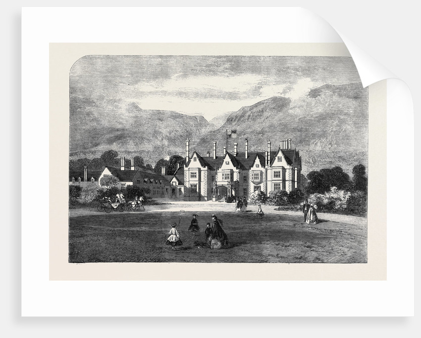 Muckross House the Seat of the Right Hon. Colonel H.A. Herbert M.P. The Queen's Visit to Ireland by Anonymous