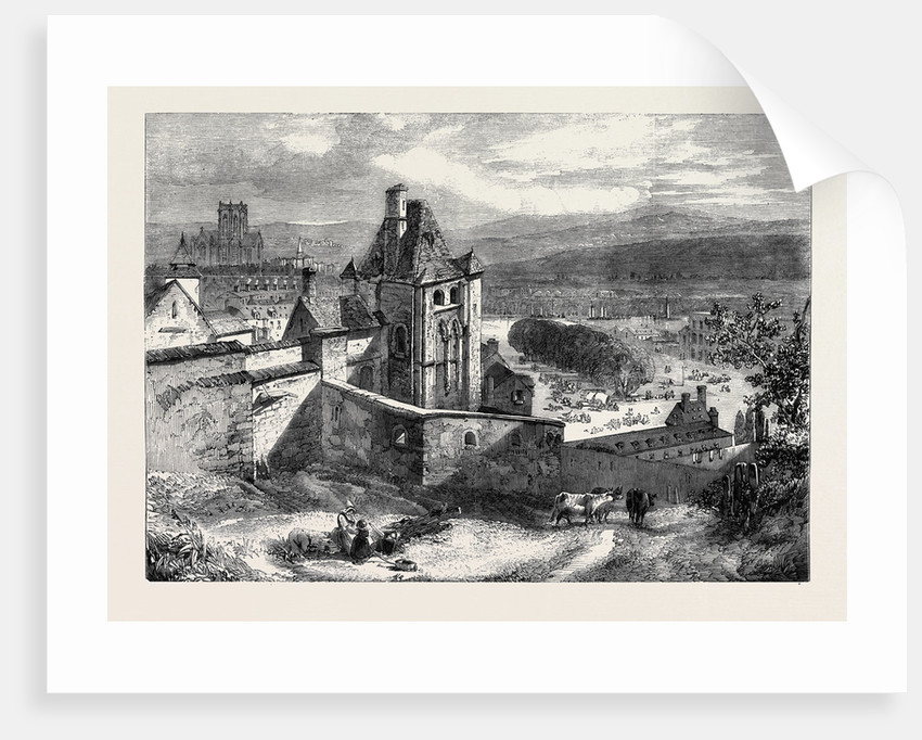 The Castle of Dieppe by Anonymous