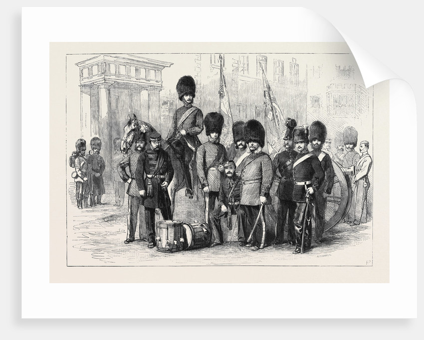 Officers and Privates of the Hon. Artillery Company of London by Anonymous