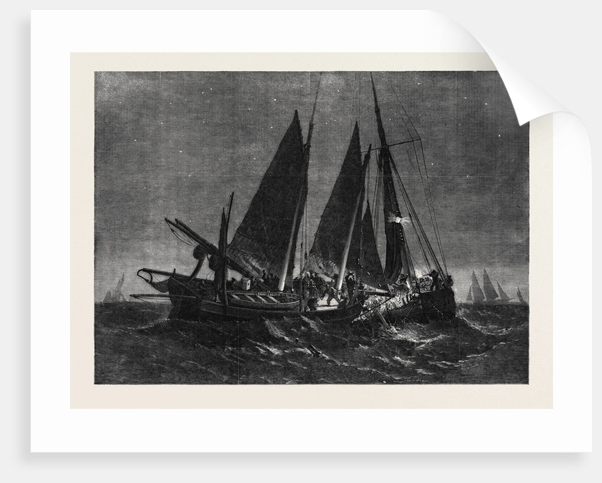 Fight Off the North Foreland Between the Crew of the Prince Arthur Fishing-Smack of Ramsgate and of the Boulogne Fishing Boat by Anonymous