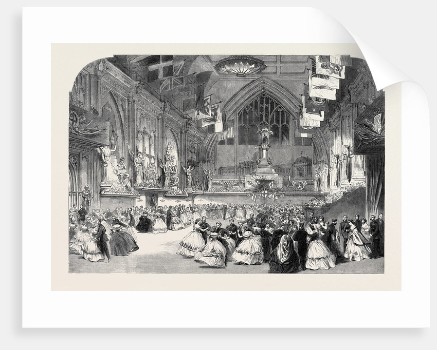 The London Rifle Brigade Ball at Guildhall by Anonymous