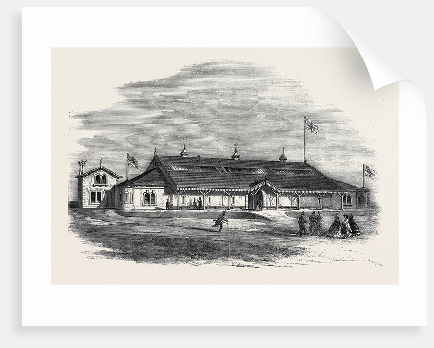 Armoury and Drillroom at Bradford for the Third West York Rifle Volunteers by Anonymous