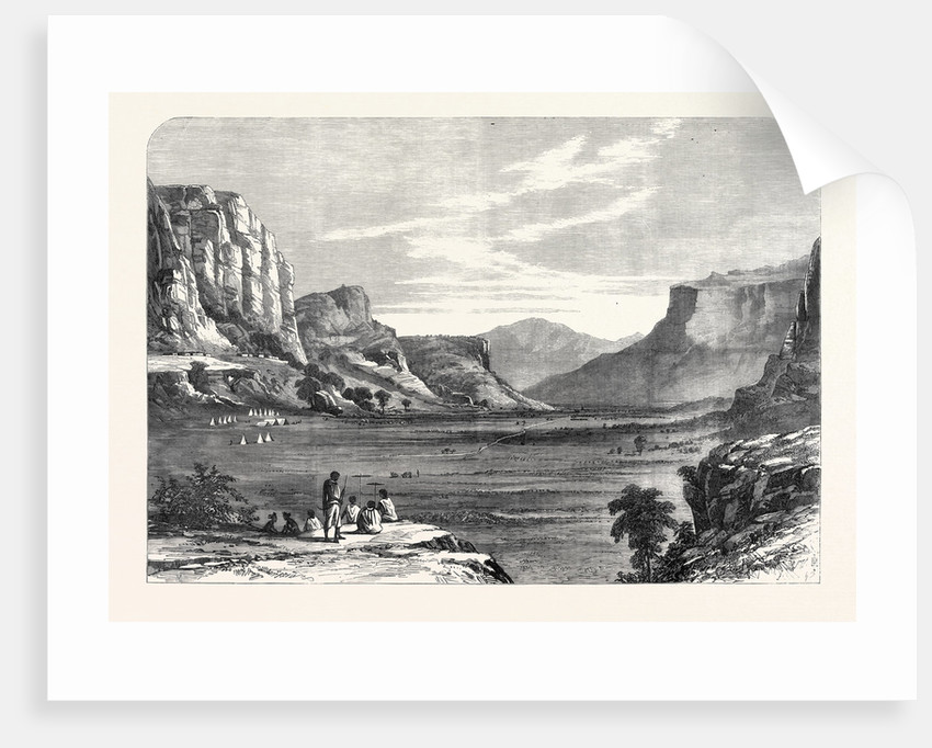 The Expedition to Abyssinia: Goon-Goona in the Valley of the Mai Muna 1868 by Anonymous