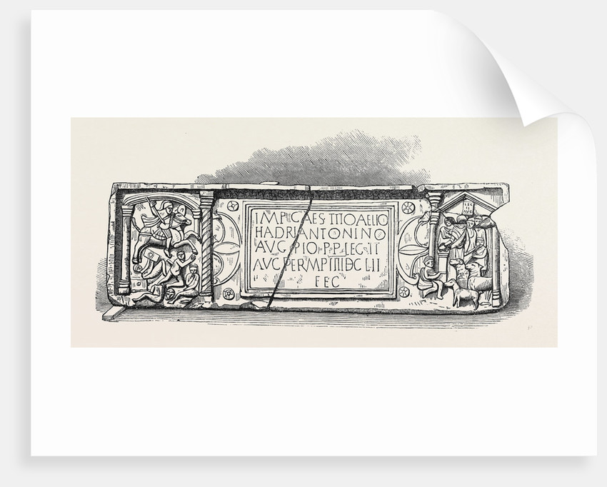 Roman Legionary Tablet Found at Bridgeness Linlithgowshire 1868 by Anonymous