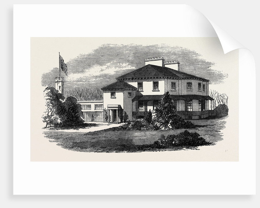 Villa Marina Douglas the Seat of the New Lieutenant-Governor of the Isle of Man by Anonymous