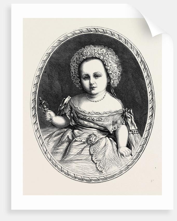 Prince Frederick William Victor Albert Son of the Prince and Princess of Prussia (Prince and Princess Frederick William) by Anonymous
