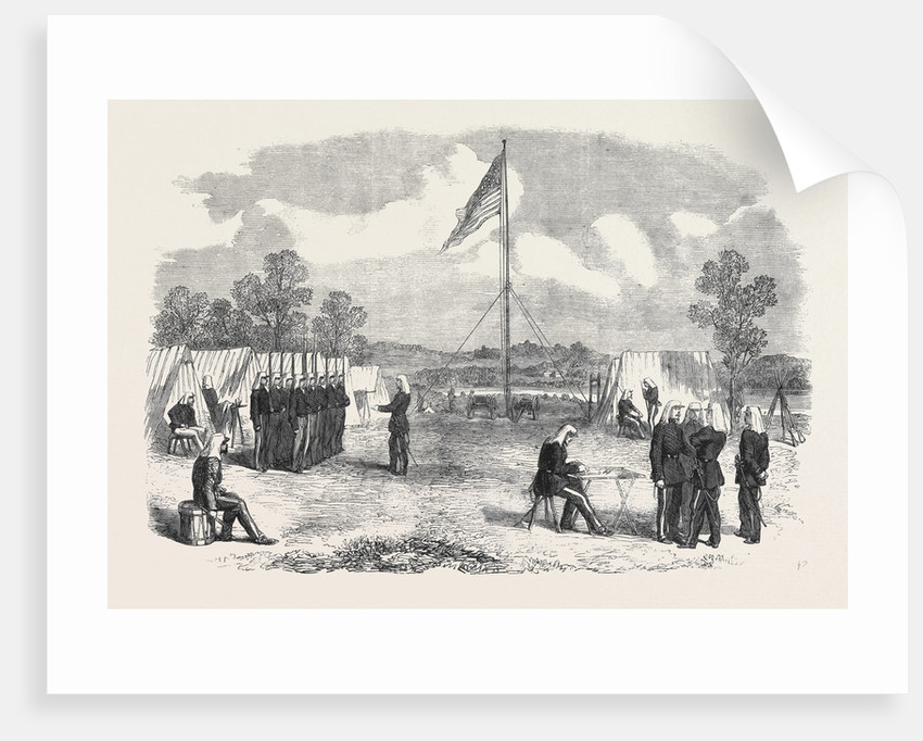 The Civil War in America: My Headquarters in the Camp of the 2nd New York Regiment by Anonymous