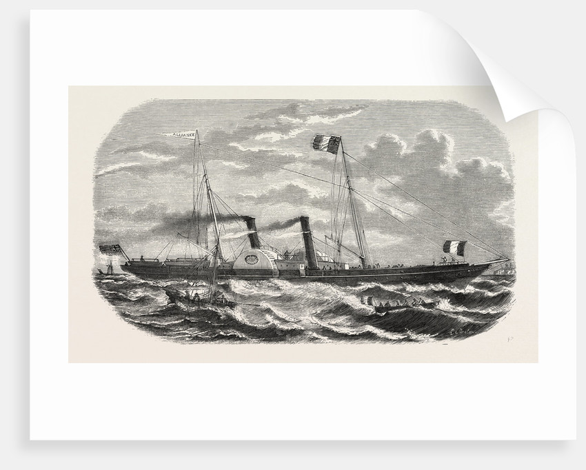 Alliance, Steamship, an Established New Service Between Le Havre and Southampton by Anonymous