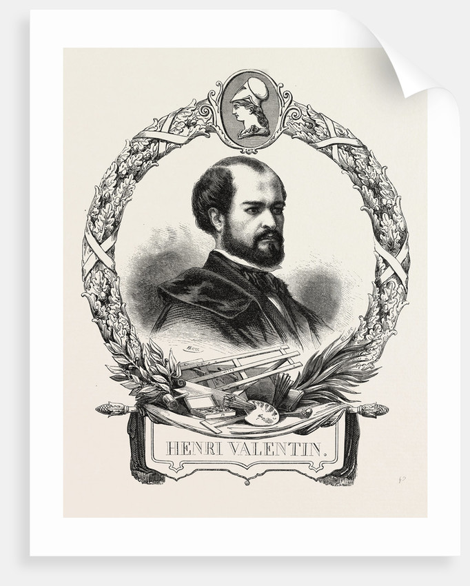 Henri Valentin 10 January 1820 in Allarmont (Vosges) and Died the 11 August 1855 in Strasbourg (Bas-Rhin), French Engraver by Anonymous