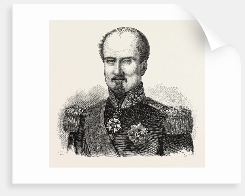 General Brunet, Killed Before Sebastopol. The Crimean War, 1855. French Brigade Commander in Assault on the Malakoff by Anonymous