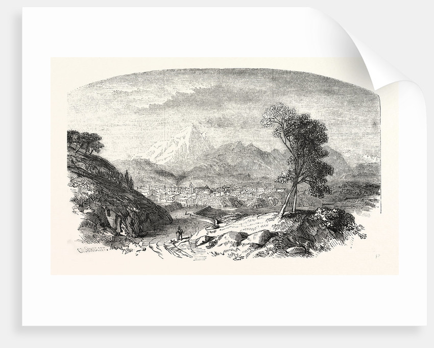 Chamberry, the Capital of Savoy France by Anonymous
