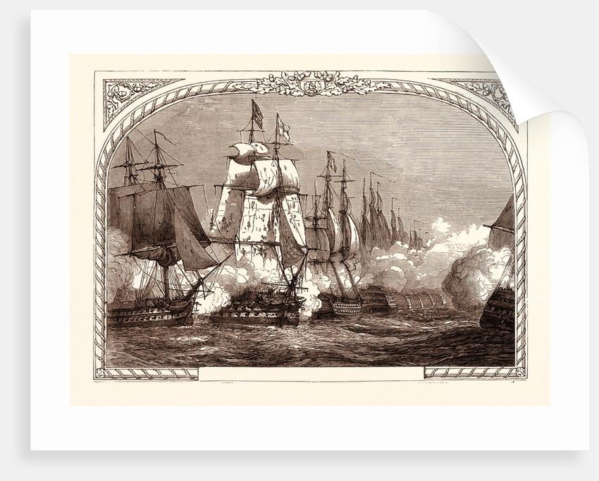 Battle of Trafalgar, (Nelson), October 21st, 1805, Cape Trafalgar in South West Spain by Anonymous