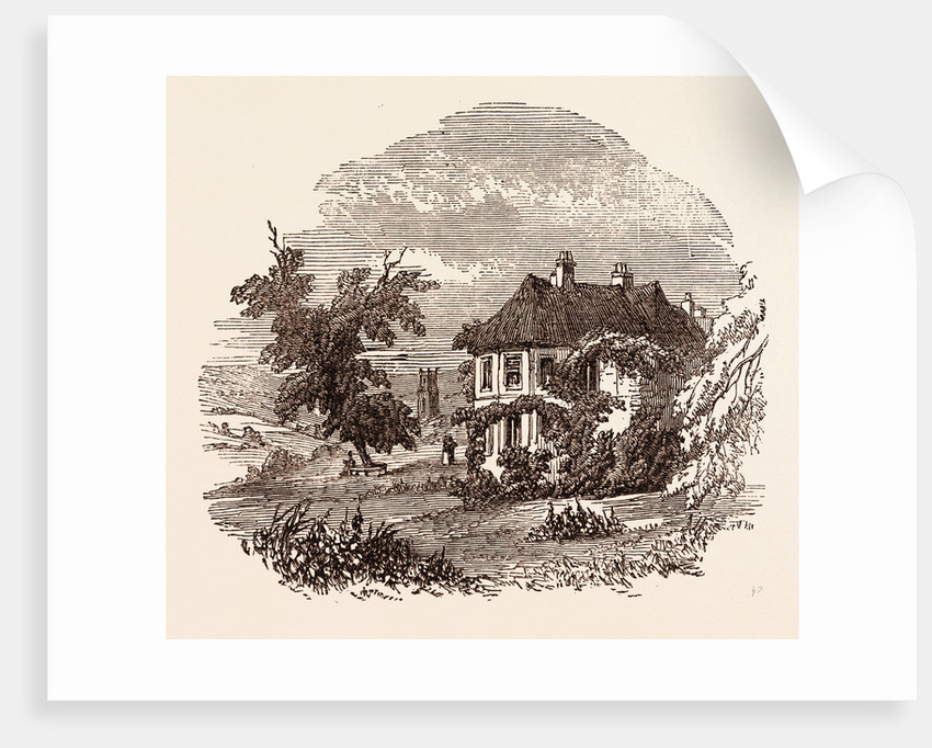 Barley Wood, Somerset, the Residence of Mrs. Hannah More by Anonymous