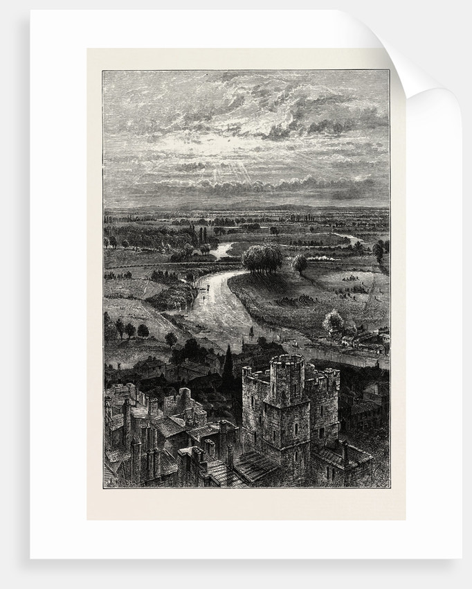 The Thames Valley, from the Round Tower by Anonymous