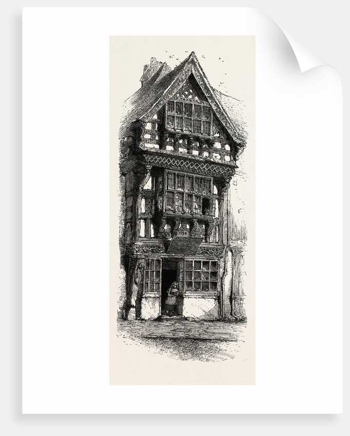 Old House at Stratford by Anonymous