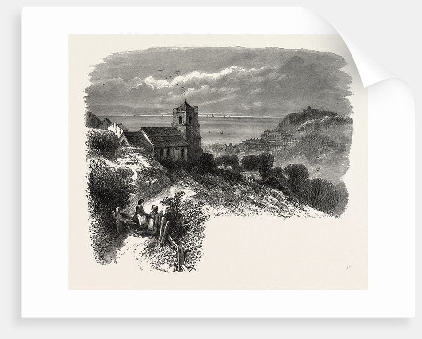 All Saints, Hastings, from Eastcliff, the South Coast by Anonymous