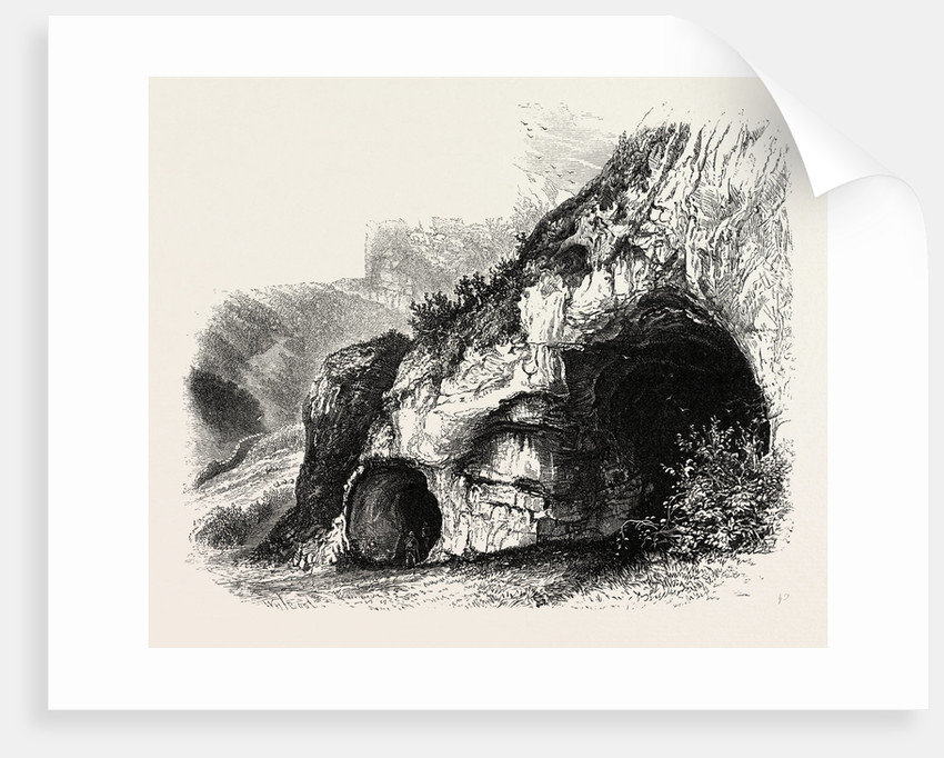 The Dove Holes, Dove Dale, the Dales of Derbyshire, Country by Anonymous