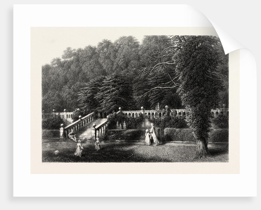 Haddon Hall, the Terrace by Anonymous