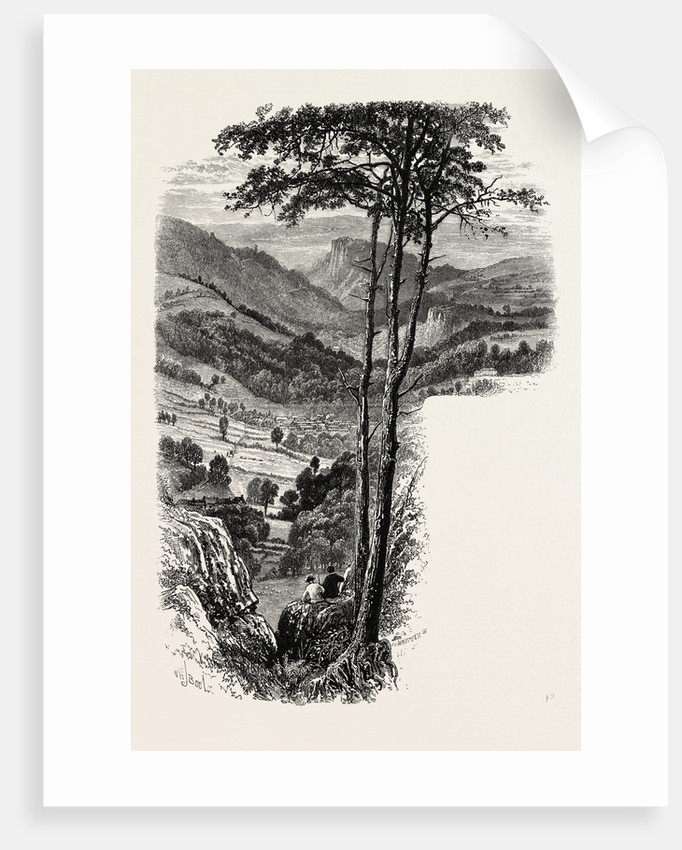The Vale of Cromford and Matlock, from the Black Rocks, the Dales of Derbyshire, Country by Anonymous