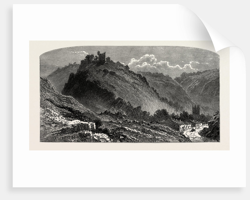 Peveril Castle, the Dales of Derbyshire, Country by Anonymous