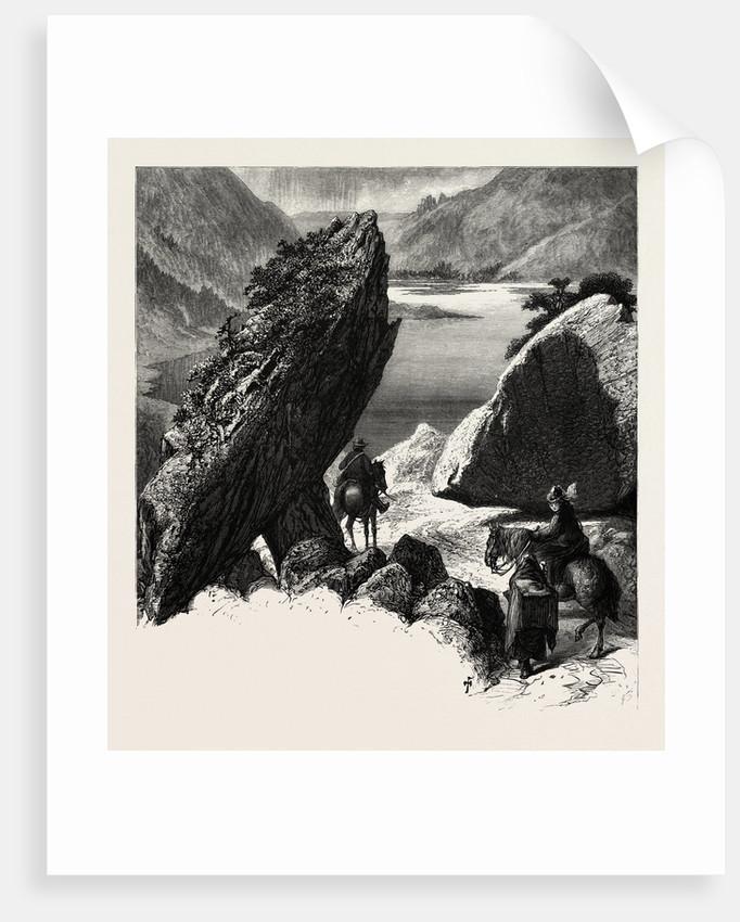 The Pike, Gap of Dunloe, Ireland, Irish, Eire by Anonymous