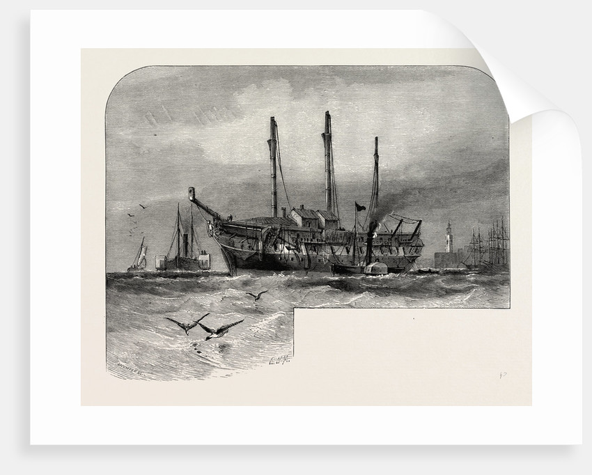 Old Hulk in the Thames, Scenery of the Thames by Anonymous
