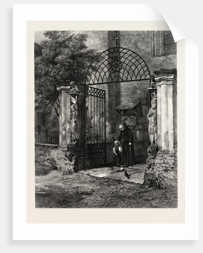Gateway of the Cathedral Coire, Chur, Switzerland by Anonymous