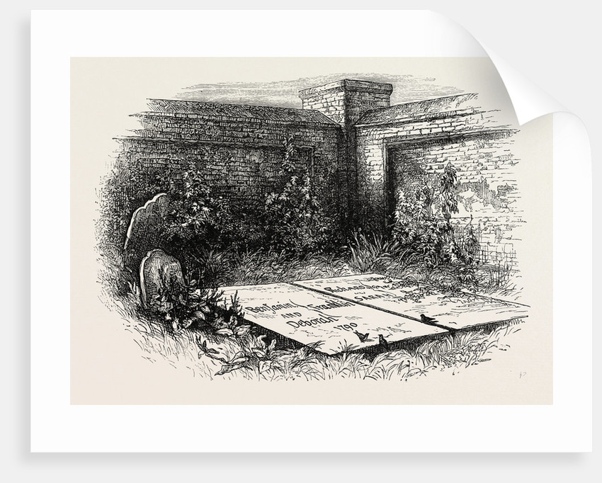 Franklin's Grave at Philadelphia by Anonymous