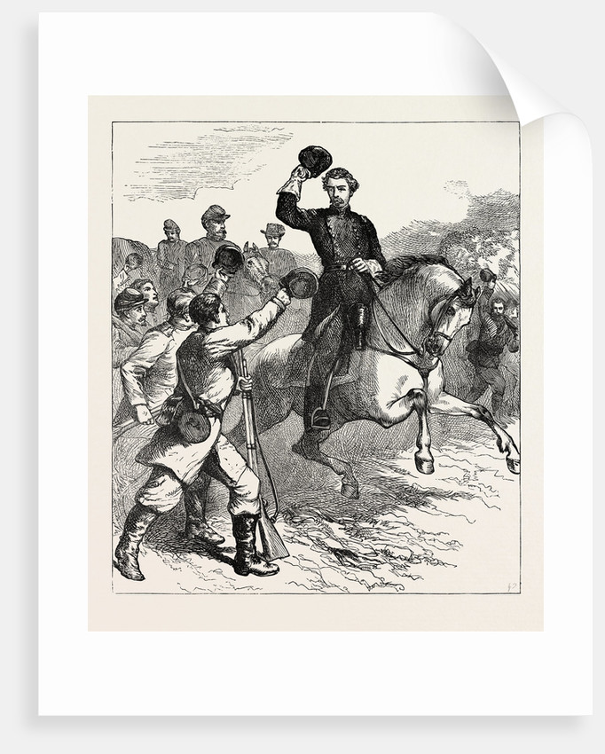 Arrival of Mcclellan at Williamsburg by Anonymous