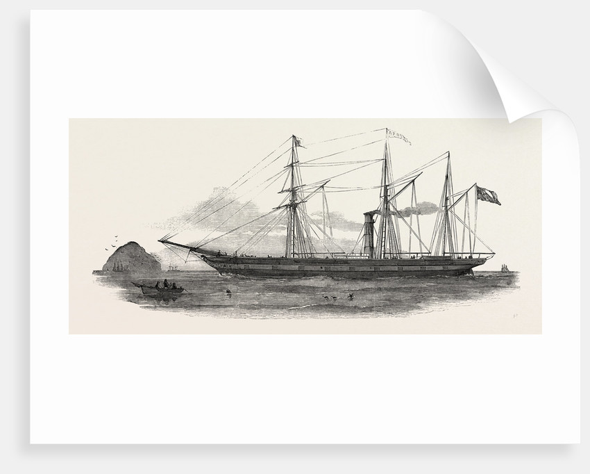 The Screw Steamer Arno, for the Mediterranean by Anonymous