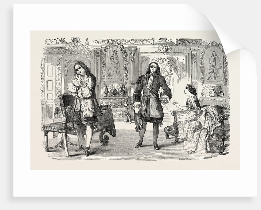 Scene from the New Comedy of Love in a Naze by Anonymous