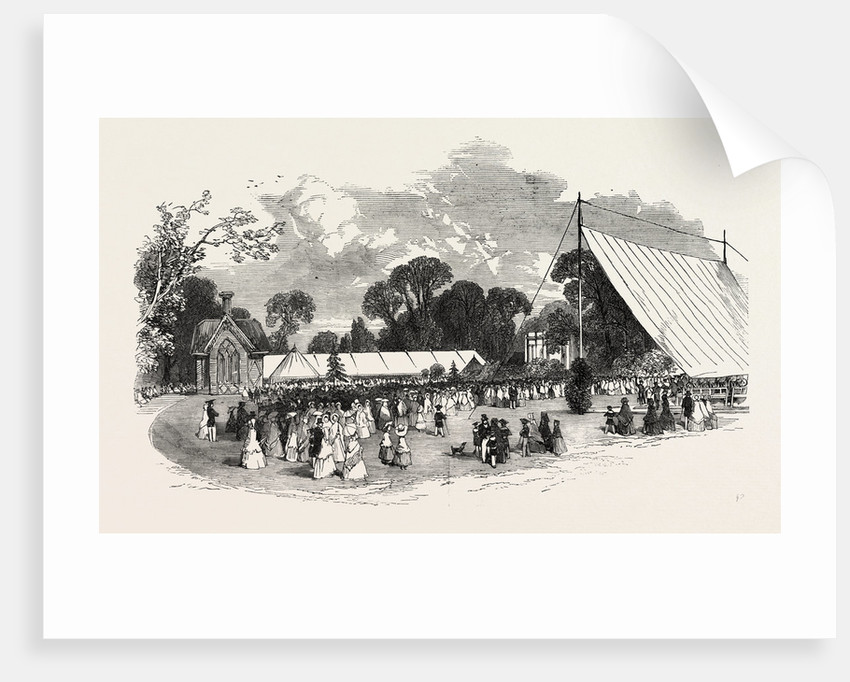 Horticultural and Floral Exhibition at the Royal Old Wells, Cheltenham by Anonymous