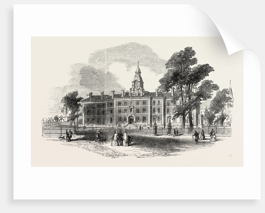City of London Hospital for Diseases of the Chest, Victoria Park, First Stone Laid by Anonymous
